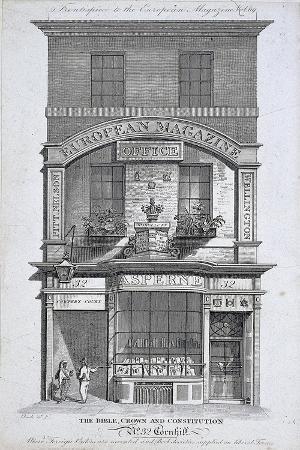 No 32 Cornhill, London, C1800