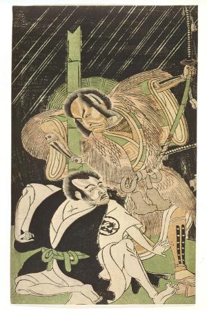 Actors as Sumurai, 18th Century