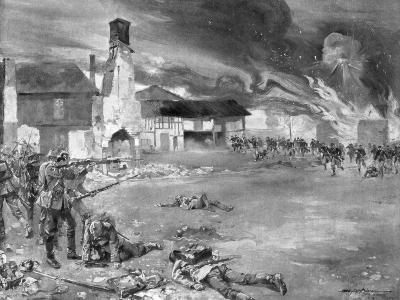The Battle of Sommesous, 1914