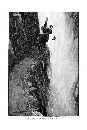 The Death of Sherlock Holmes, 1893