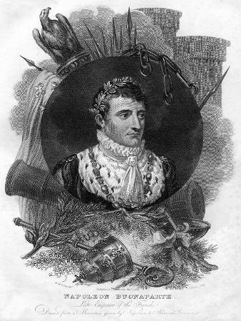 Napoleon I (1769-182), Emperor of France, 1816