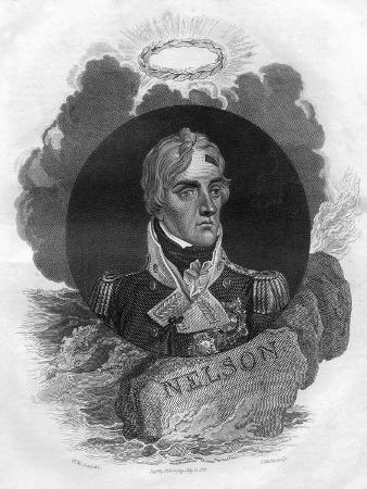 Lord Horatio Nelson, English Naval Commander, 1816