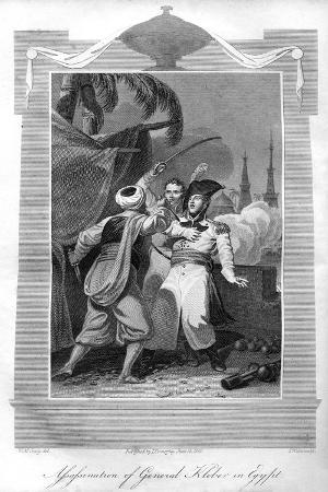 The Assassination of General Kléber in Egypt, 1816