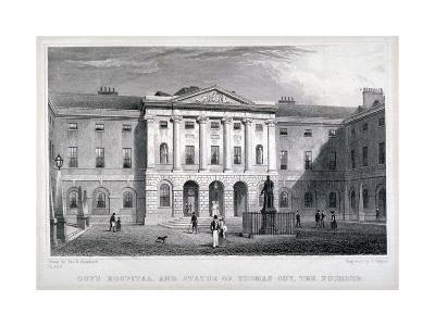 Guy's Hospital, Southwark, London, C1825