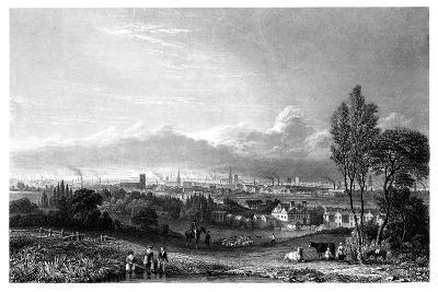 View of Manchester, 1844