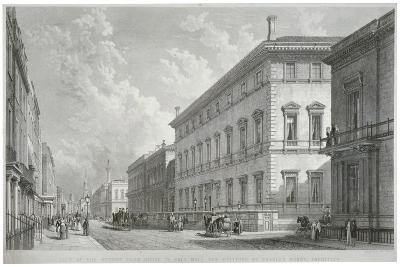 Pall Mall, Westminster, London, 1840