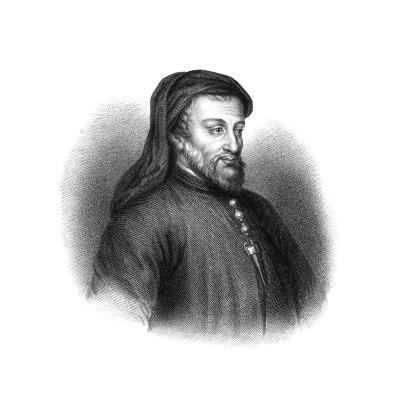 Geoffrey Chaucer, 14th Century English Author, Poet, Philosopher, Bureaucrat, and Diplomat