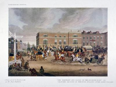 The Elephant and Castle Inn, Newington Butts, Southwark, London, 1826