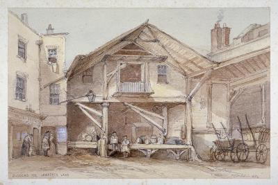 Blossoms Inn, Lawrence Lane, City of London, 1854