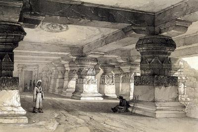Interior of Lanka, Ellora, India, 1845