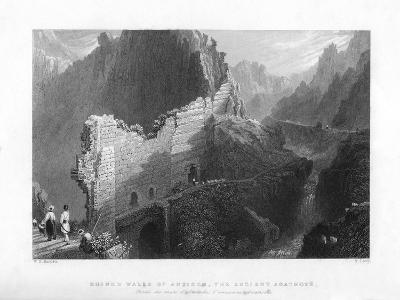 Ruined Walls of Antioch, the Ancient Anathoth, 1841