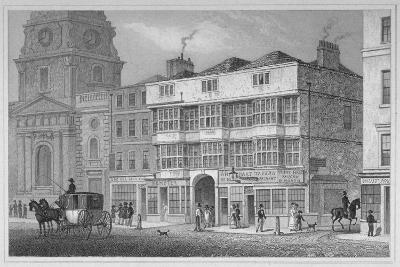 The White Hart Inn at No 119 White Hart Court, Bishopsgate, City of London, 1829
