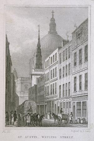 St Augustine, Watling Street, London, C1830
