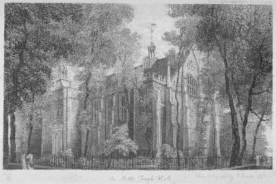 Middle Temple Hall, Middle Temple, City of London, 1798