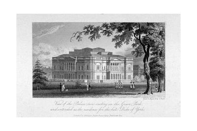 York House and Green Park, Westminster, London, C1800