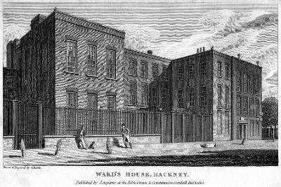 Ward's House, Hackney, London, 1805