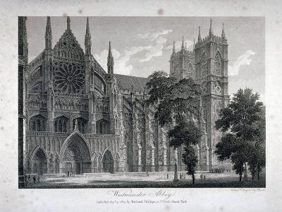 Westminster Abbey, London, 1804