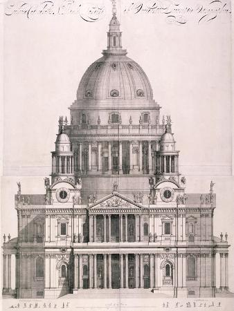 St Paul's Cathedral, London, 1702