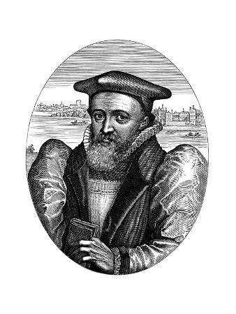 George Abbott (1562-163), English Cleric and Archbishop of Canterbury, 17th Century