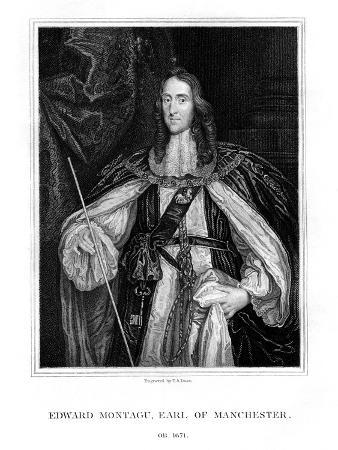 Edward Montagu, 2nd Earl of Manchester, English Soldier