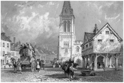 Market Harborough, Leicestershire, 19th Century