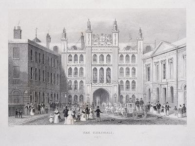 Guildhall, London, 1855