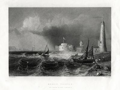 Hurst Castle, Portsmouth, 1860