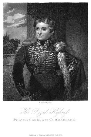 Prince George of Cumberland, 1831