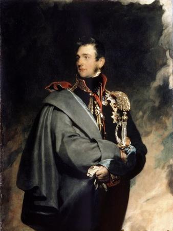 Portrait of Count Mikhail Vorontsov, (1782-183), 1821