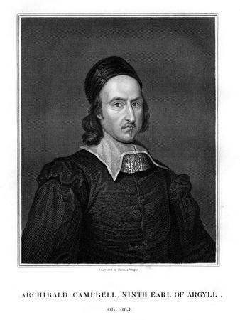 Archibald Campbell, 9th Earl of Argyll, Statesman