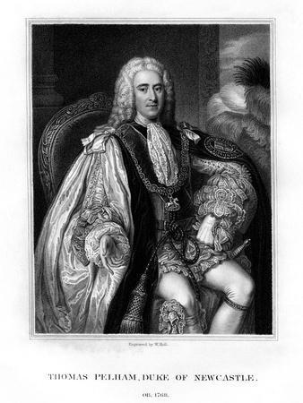 Thomas Pelham-Holles, 1st Duke of Newcastle-Upon-Tyne, British Whig Statesman