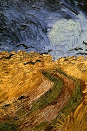 Wheatfield with Crows, (Detail) 1890