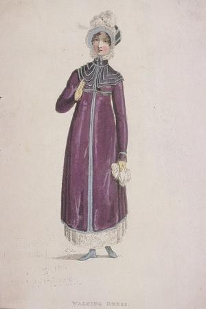 A Woman in a Walking Dress, C1810
