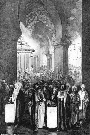 The Prayer During One Night of Ramadan, 1881
