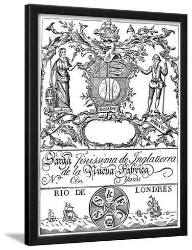 trade label of the south sea pany 18th century giclee print at  trade label of the south sea pany 18th century giclee print at allposters