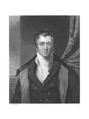Humphry Davy, English Chemist, 1860