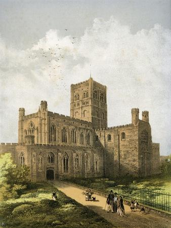 St Albans Cathedral, Hertfordshire, C1870