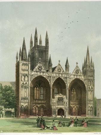 Peterborough Cathedral, Cambridgeshire, C1870