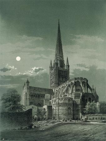 Norwich Cathedral, Norfolk, C1870