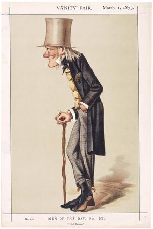 Professor Sir Richard Owen, Frs, Kcb, Naturalist, 1873