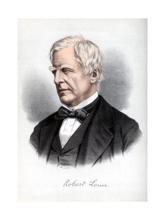 Robert Lowe, 1st Viscount Sherbrooke, British Statesman, C1890