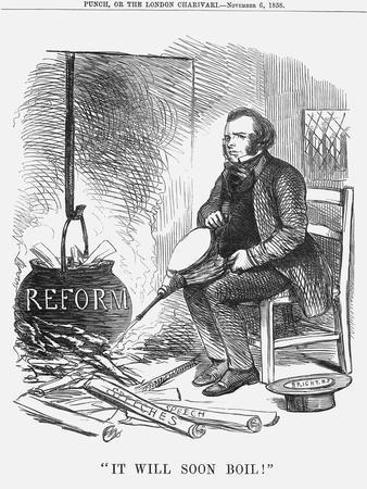 It Will Soon Boil!, 1858