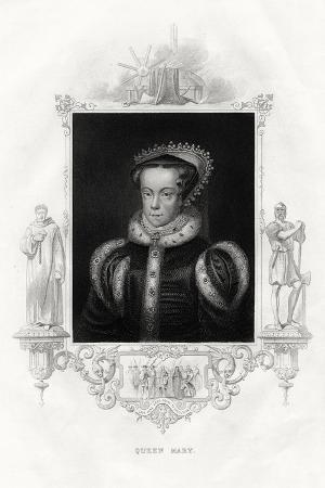 Mary I (1516-155), also known as Mary Tudor, 1860