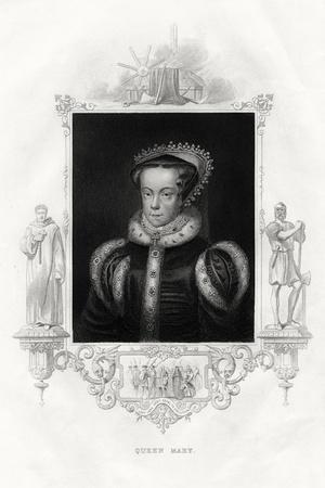 Mary I (1516-155), also known as Mary Tudor, 1860