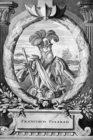 Francisco Pizarro, 15th Century Spanish Conquistador, 1671
