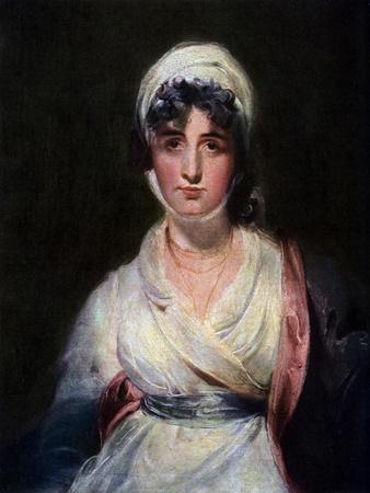 Sarah Siddons (1755-183), English Actress, 1911-1912