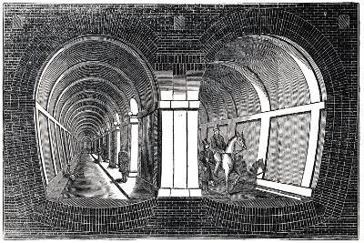 The Thames Tunnel, London, 1832