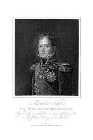 Michel Ney, French Soldier of the Napoleonic Wars, 1817