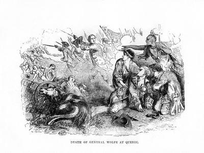 The Death of General Wolfe at Quebec, 1759