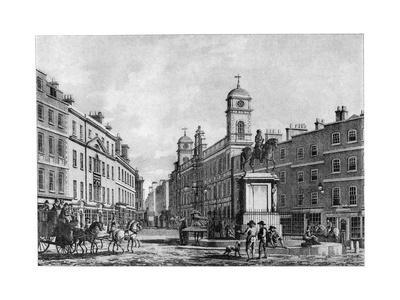 Northumberland House, Charing Cross, 18th Century